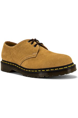 Dr. Martens 1461 Milled Buck Shoes in Neutral