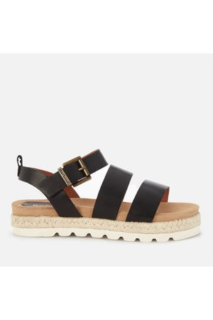 Barbour Women Espadrilles - Women's Gabbie Leather Espadrille Sandals