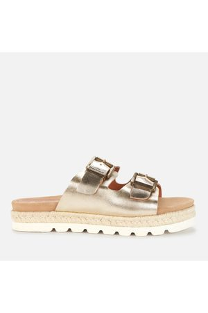 Barbour Women Espadrilles - Women's Lola Leather Espadrille Sandals