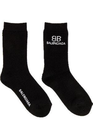 Balenciaga BB Socks in