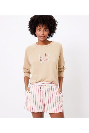LOFT Women Sweatshirts - Petite Lou & Grey Fearless Female Terry Sweatshirt
