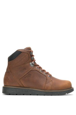 Wolverine Men's Hellcat UltraSpring™ Wedge Boot Tobacco, Size 7 Extra Wide Width