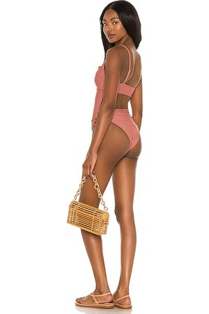 Tularosa Tamaryn One Piece in Mauve.