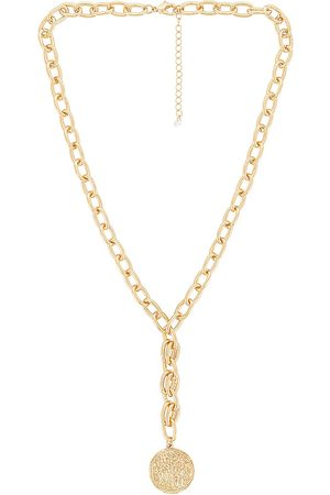 8 Other Reasons Amelia Lariat Necklace in Metallic .