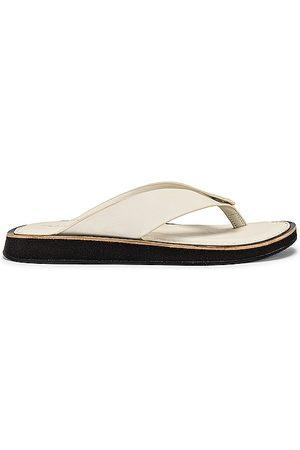 RAG&BONE Parker Thong Sandal in White.