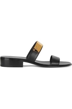 Giuseppe Zanotti Men Sandals - Ignazio leather sandals