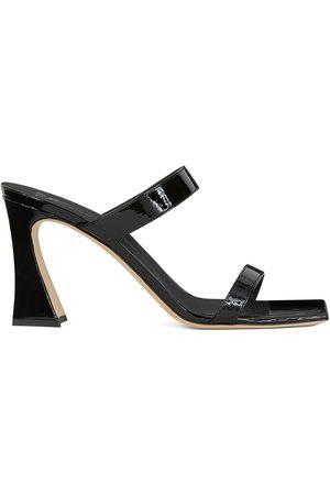 Giuseppe Zanotti Women Sandals - Flaminia patent leather sandals