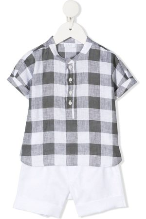 Il gufo Sets - Checked shirt and short set