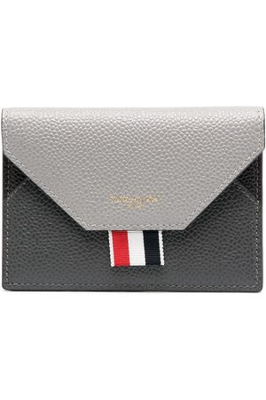 Thom Browne Envelope cardholder - Grey
