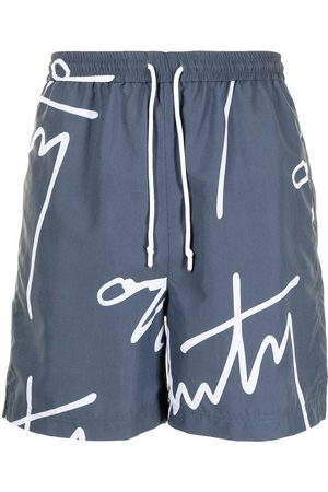 Off-Duty Men Shorts - Logo-print Baali shorts