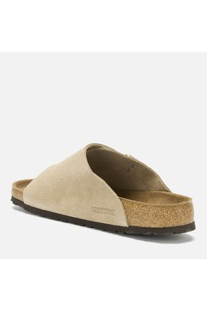 Birkenstock Men Sandals - Men's Zurich Sfb Suede Slide Sandals