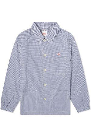 DANTON Men Casual - Poplin Shirt Jacket