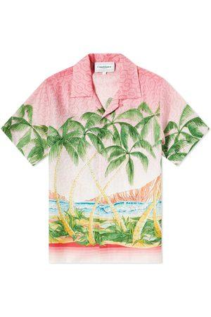 Casablanca Men Short sleeves - Short Sleeve Rose a Maui Shirt