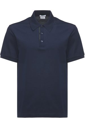 BRIONI Men Polo Shirts - Logo Embroidery Cotton Polo