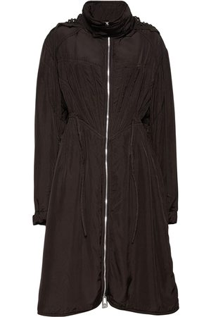 Bottega Veneta Washed Fluid Viscose & Silk Parka