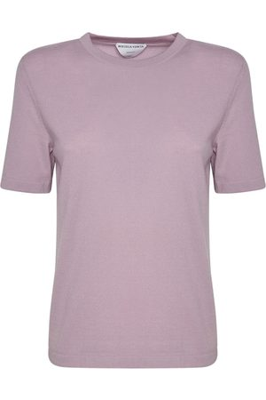 Bottega Veneta Cashmere Knit Short Sleeved Top