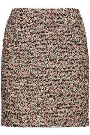 Bottega Veneta Colorful Bouclé Mini Skirt