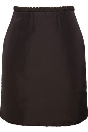 Bottega Veneta Washed Fluid Parachute Mini Skirt