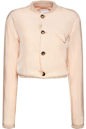 Bottega Veneta Women Jackets - Washed Fluid Parachute Jacket