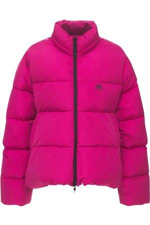 Balenciaga C Shape Micro Faille Puffer Jacket