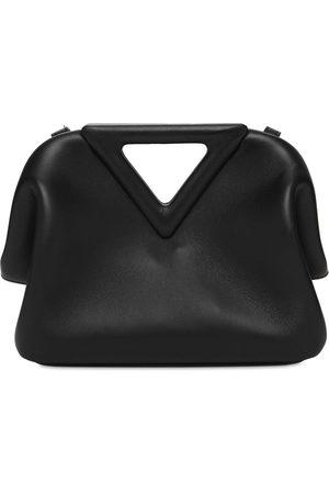 Bottega Veneta Leather Top Handle Bag
