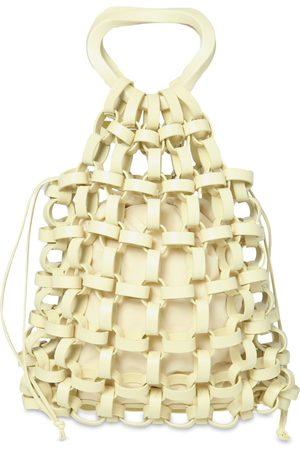 Bottega Veneta Leather Chain Top Handle Bag