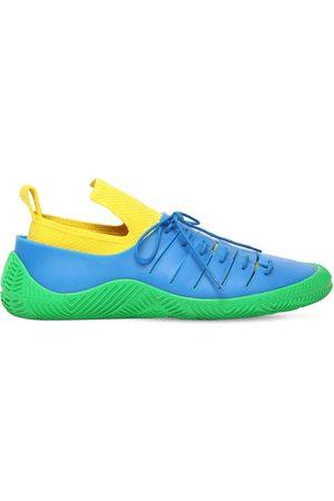 Bottega Veneta Men Sneakers - Tech Knit & Rubber Low Sneakers