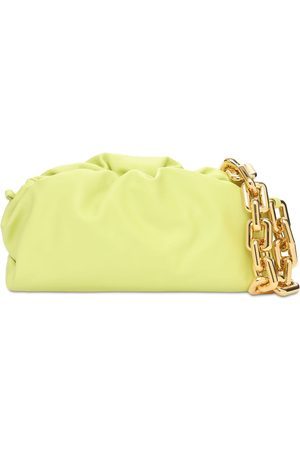 Bottega Veneta Metal Chain Leather Shoulder Bag