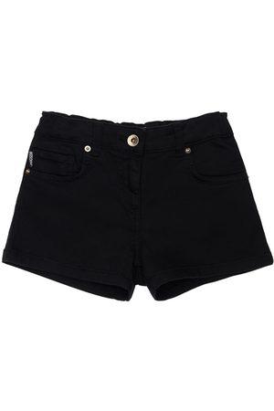 Moschino Girls Shorts - Toy Print Cotton Sweat Shorts