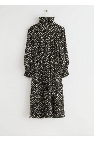 & OTHER STORIES Women Midi Dresses - Belted Turtleneck Midi Dress