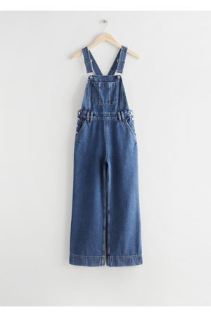 & OTHER STORIES Women Dungarees - Relaxed Denim Dungarees