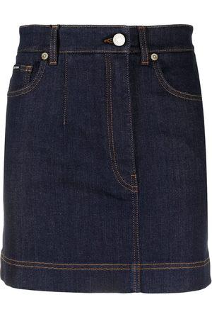 Dolce & Gabbana A-line denim skirt