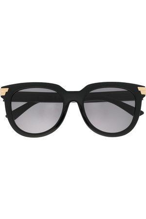 Bottega Veneta Oversized round-frame sunglasses