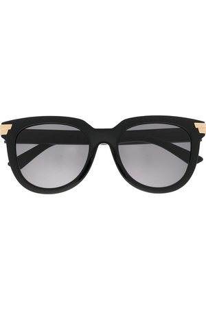 Bottega Veneta Women Round - Oversized round-frame sunglasses