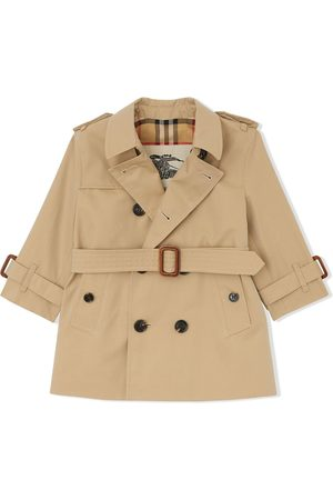 Burberry Double-breasted trench coat - Neutrals