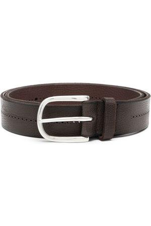 Orciani Men Belts - Buckle leather belt