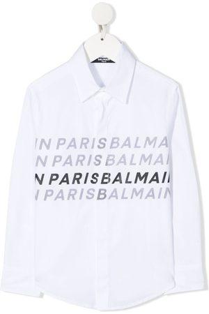 Balmain Logo-print shirt