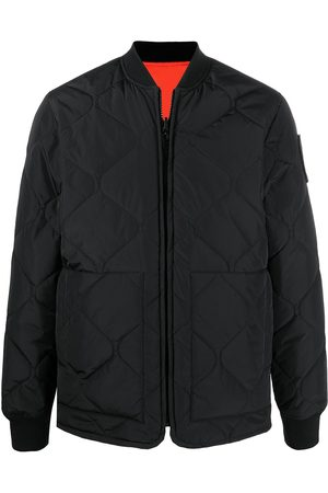 Etudes Men Bomber Jackets - Reversible quilted bomber jacket