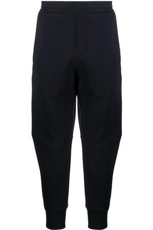 Emporio Armani Embroidered-logo track pants