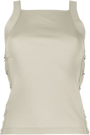 DION LEE Side-hook eye tank top