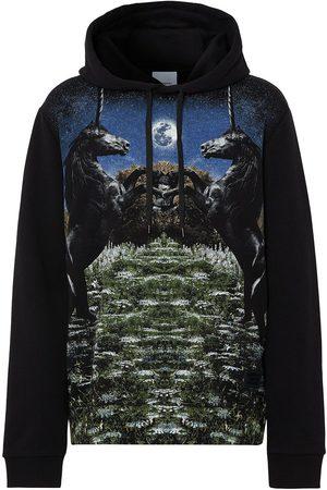 Burberry Graphic-print drawstring hoodie