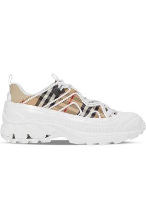 Burberry Women Sneakers - Arthur check-print sneakers