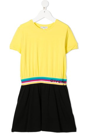 Givenchy Girls Casual Dresses - Colour-block T-Shirt dress