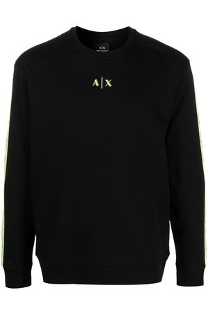 Armani Logo-print cotton-blend sweatshirt
