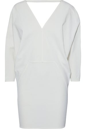 Rick Owens Women Party Dresses - Woman Release Gathered Textured Cotton-blend Mini Dress Size 38