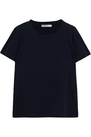 Stateside Women Short Sleeve - Woman Stretch-cotton Jersey T-shirt Navy Size L