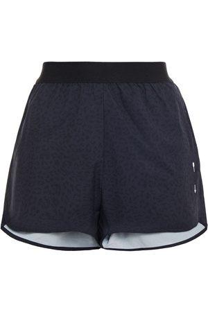The Upside Women Shorts - Woman Liv Leopard-print Stretch Shorts Size 10