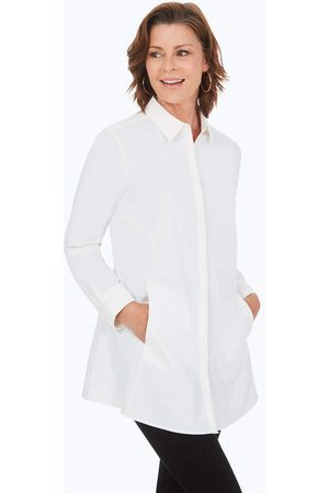 Foxcroft Women Tunics - Cici Essential Stretch Non-Iron Tunic
