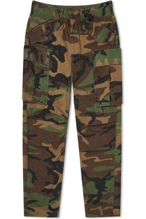 RRL Men Cargo Pants - Regiment Camo Cargo Pant