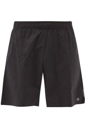Reigning Champ Hybrid Technical-shell Training Shorts - Mens - Black